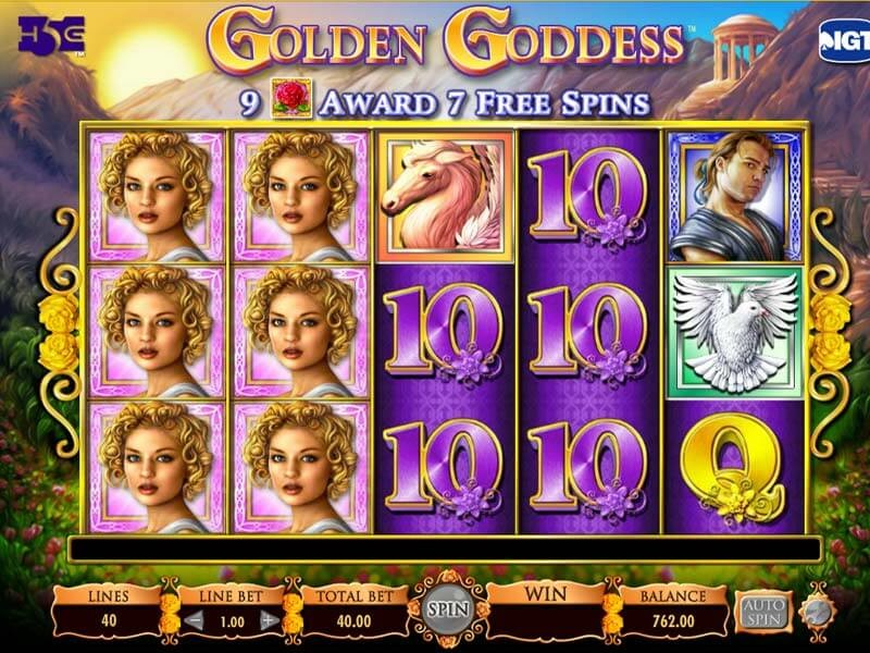 Tragamonedas Golden Goddess Juega gratis